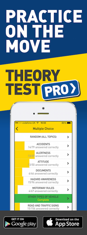 Theory Test Pro in partnership with Focus and Pass